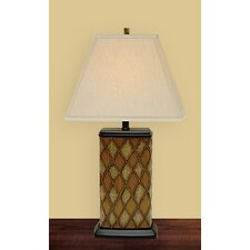 Diamond Chest Table Lamp