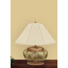 "Garden Tiellais Compote 21"" H Table Lamp with Empire Shade"