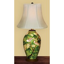 Birds in Tree Table Lamp