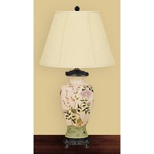 """Birds 30"""" H Table Lamp with Empire Shade"""