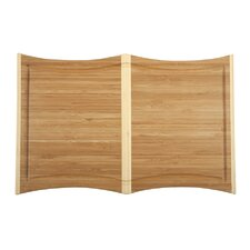 Orchid Large Cutting Board in Dark Natural
