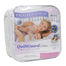 Quilt Guard Cotton Fitted Sheet Style Mattress Protector