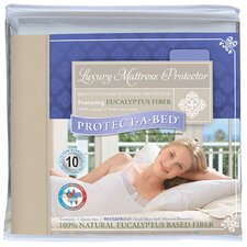 <strong>Protect-A-Bed</strong> Luxury Waterproof Tencer Fiber Fitted Sheet Style Mattress Protector