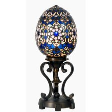 Tiffany 1 Light Egg Table Lamp