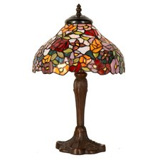 40cm Tiffany 1 Light Table Lamp