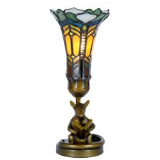 Tiffany 1 Light Mousse Table Lamp