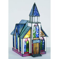Tiffany 1 Light Church Table Lamp