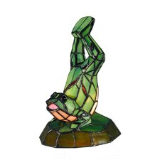 Tiffany 1 Light Frog Table Lamp