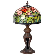 Tiffany 1 Light Tulips Table Lamp