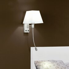 Sonja 2 Light Wall Lamp with Reading Light