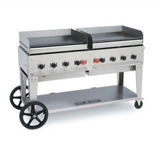 """72"""" Outdoor Griddle Natural Gas"""