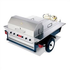 Tailgate Propane Gas Grill with Storage