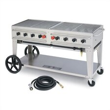 "48"" Rental Grill Single Inlet"