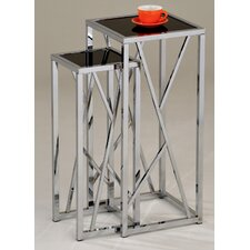 Lais 2 Piece Tall Nest of Tables