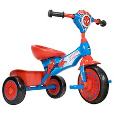 Spiderman Lights and Sounds Folding Tricycle