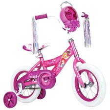 "Disney Princess Girl's 12"" Balance Bike with Jewel Case"