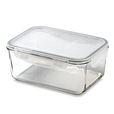 Glasslock 8-Cup Rectangular Tempered Glass Container with Sealed Lid