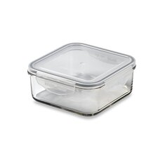 Glasslock 3.75-Cup Square Tempered Glass Container with Sealed Lid