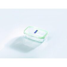 Glasslock 1.75-Cup Rectangular Tempered Glass Container with Sealed Lid