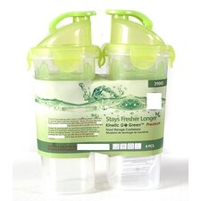 20 Oz. Plastic Shaker with Sealed Lid (Set of 2)
