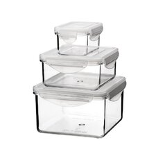 Tritan 6-Piece Container Set with Sealed Lid