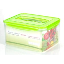 Premium 237-oz. Rectangle Food Storage Container with Moisture Rack