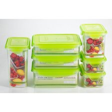 <strong>Kinetic</strong> Premium 14 Piece Rectangle Food Storage Container Set