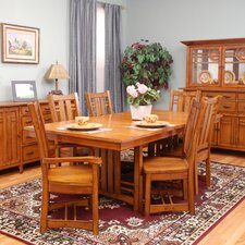 <strong>GS Furniture</strong> Arts and Crafts Bungalow 7 Piece Dining Set
