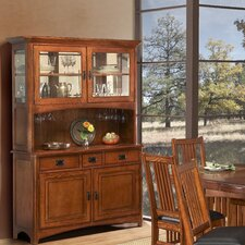 Arts and Crafts Pasadena China Cabinet