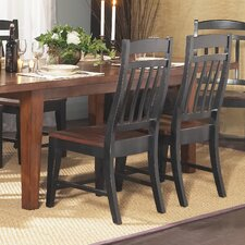 Riverside Slat Back Side Chair (Set of 2)