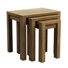 <strong>Elements</strong> Goliath 3 Piece Nest of Tables