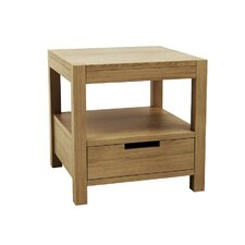 Simplicity 1 Drawer Bedside Table