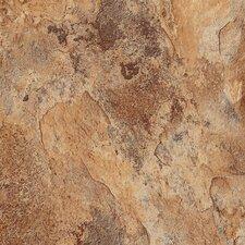 "DuraCeramic Sierra Slate 15.63"" x 15.63"" Vinyl Tile in Flaxen"