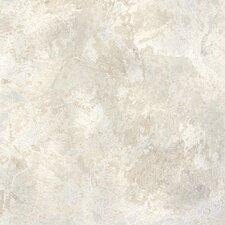 "DuraCeramic Sandalstone 15.63"" x 15.63"" Vinyl Tile in White Stone"