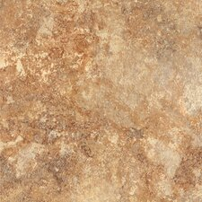 "<strong>Congoleum</strong> DuraCeramic Rapolano 15.63"" x 15.63"" Vinyl Tile in LeMans Sunset"