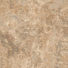 "DuraCeramic Mercer 15.63"" x 15.63"" Vinyl Tile in Fired Taupe"