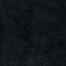 "DuraCeramic Heirloom 15.63"" x 15.63"" Vinyl Tile in Ebony Black"