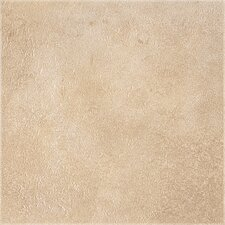 "DuraCeramic Earthpath 15.63"" x 15.63"" Vinyl Tile in Sunny Clay"