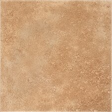 "DuraCeramic Earthpath 15.63"" x 15.63"" Vinyl Tile in Baked Clay"