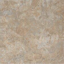 """DuraCeramic Dreamscape 15.63"""" x 15.63"""" Vinyl Tile in Slate Greige"""