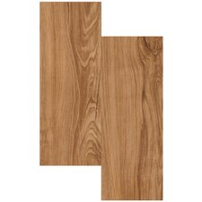 "Endurance 6"" x 36"" Vinyl Plank in Chestnut"