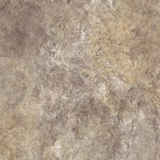"Ovations Textured Slate 14"" x 14"" Vinyl Tile in Sage"