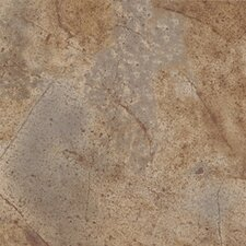 "<strong>Congoleum</strong> Ovations Sunstone 14"" x 14"" Vinyl Tile in Greige"