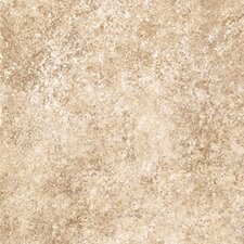 "Ovations Stone Ford  14"" x 14"" Vinyl Tile in Wheat"