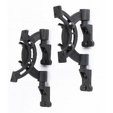 <strong>Pinpoint Mounts</strong> Bookshelf Speaker Wall Mount Pair in Black