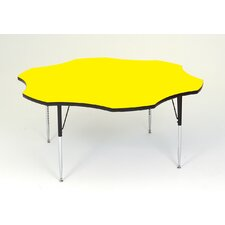 <strong>Correll, Inc.</strong> Flower Shaped Activity Table with Standard Legs