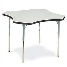 Clover Shaped Activity Table with Short Legs