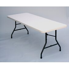 "<strong>Correll, Inc.</strong> 96"" W x 30"" D Rectangular Folding Table"