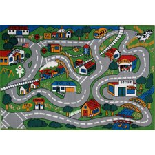 <strong>Fun Rugs</strong> Fun Time Country Fun Kids Rug
