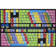 Fun Time Keyboard Kids Rug
